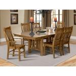 Laurelhurst Trestle Table - Rustic Oak