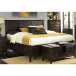 Westlake Dark Mahogany E King Storage Bed