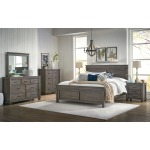 Glacier Point 5 PC King Panel Bedroom Set