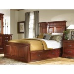 Kalispell Queen Mantel Bed with Storage