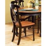 British Isles Chair - Honey/Espresso