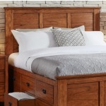 Mission Hill Queen Captain Headboard