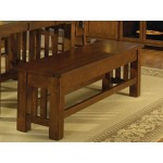 Laurelhurst Storage Bench - Mission Oak