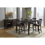 Bristol Point - Warm Gray Gather Height Leg Table