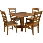 Bennett Square Drop Leaf Table