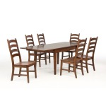 Toluca 7 PC Dining Set