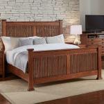 Mission Hill King Slat Bed