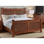 MISSION HILL QUEEN SLAT BED