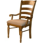 Bennett Ladderback Uph. Arm Chair