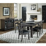 MARIPOSA GRAY DINING TABLE