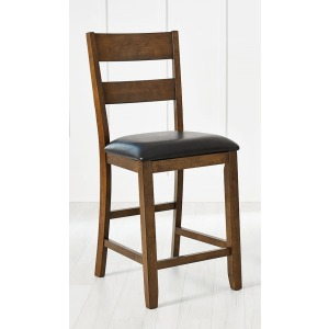 Mariposa Ladderback Uph Counter Stool