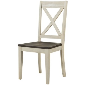 HURON COCOA CHALK X-BACK CHAIR