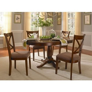 Desoto Oval Pedestal Table