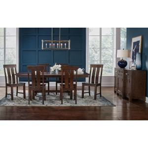 Henderson 7PC Trestle Dining Set