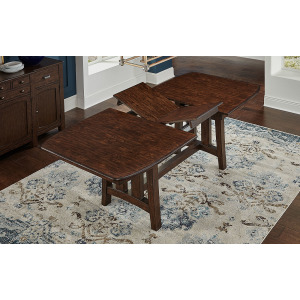 "Henderson Trestle Table - 18"" Bfly Leaf"