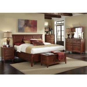 Westlake CB 4 PC Queen Storage Bedroom Set