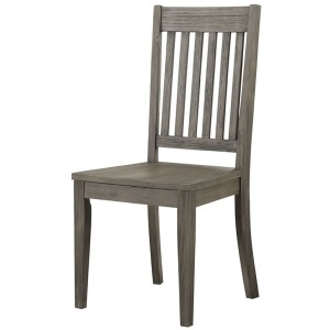 HURON GREY SLATBACK CHAIR