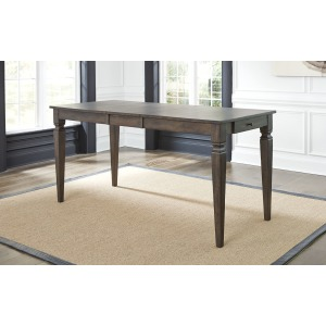 Kingston Leg Gathering Table - Dark Gray