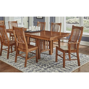 Laurelhurst Mission 7 PC Dining Set