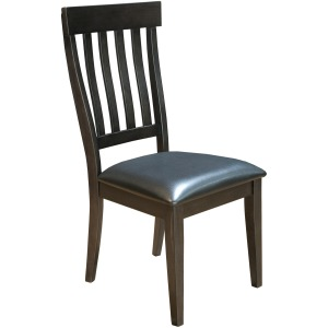 MARIPOSA GRAY SLATBACK CHAIR