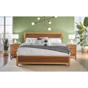 Modway Qn Panel Angled Bed