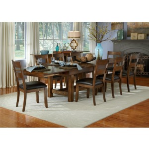 Mariposa RW 9 PC Dining Set