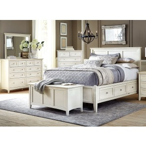 Northlake 3 PC Queen Storage Bedroom Set