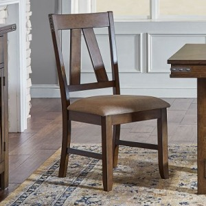Eastwood Slatback Upholstered Side Chair