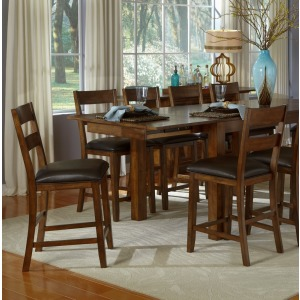 Mariposa 7 PC Gather Dining Set