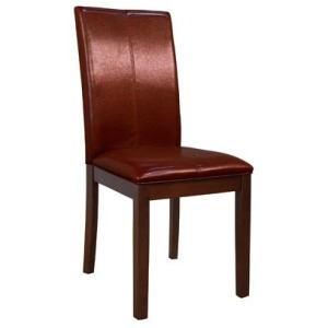 Parson Chairs Curved Back - Red