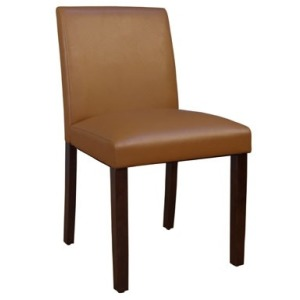 Parson Chairs Low Back Chair - Caramel