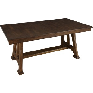 Ozark 40x72 Trestle Table