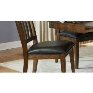 Mariposa Slatback Upholstered Side Chair