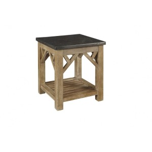 West Valley Occasional End Table with Shelf