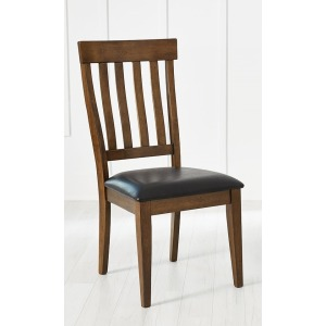 Mariposa Slatback Side Chair Uph. Seat