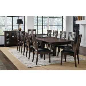 Mariposa 9 PC Dining Set