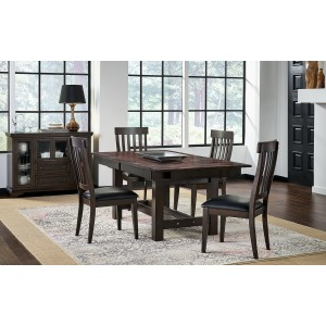 MARIPOSA GRAY TRESTLE TABLE