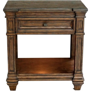 Gallatin 1 Drawer Bedside Table