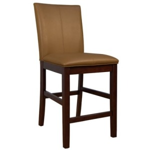 Parson Chairs Curved Back Stool - Caramel