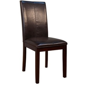 Parson Chairs Curved Back - Brown