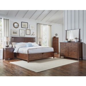 Sodo 4 PC Queen Storage Bedroom Set
