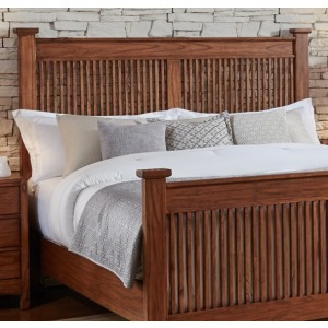 MISSION HILL KING SLAT HEADBOARD