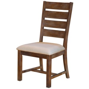 Marquez Brown Slatback Side Chair