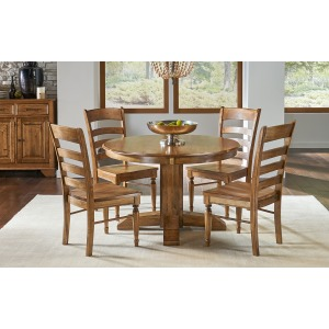 Bennett 48 Pedestal Table W/1-18 Leaf