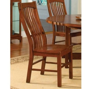 Laurelhurst Slat Side Chair - Mission Oak