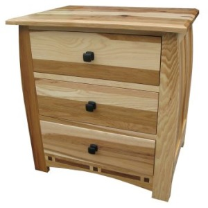 Adamstown 3-drawer Nightstand