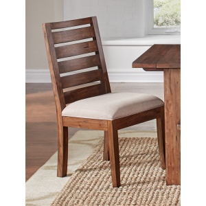 Anacortes Ladderback Side Chair Uph Seat