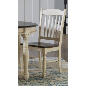 British Isles Slatback Side Chair