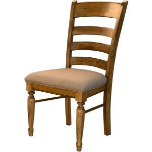 Bennett Ladderback Upholstered Side Chair