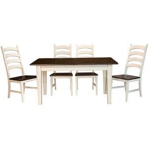 Toluca 38x132 3-leaf Extension Table